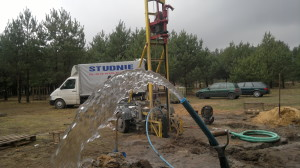 studnia wiercona